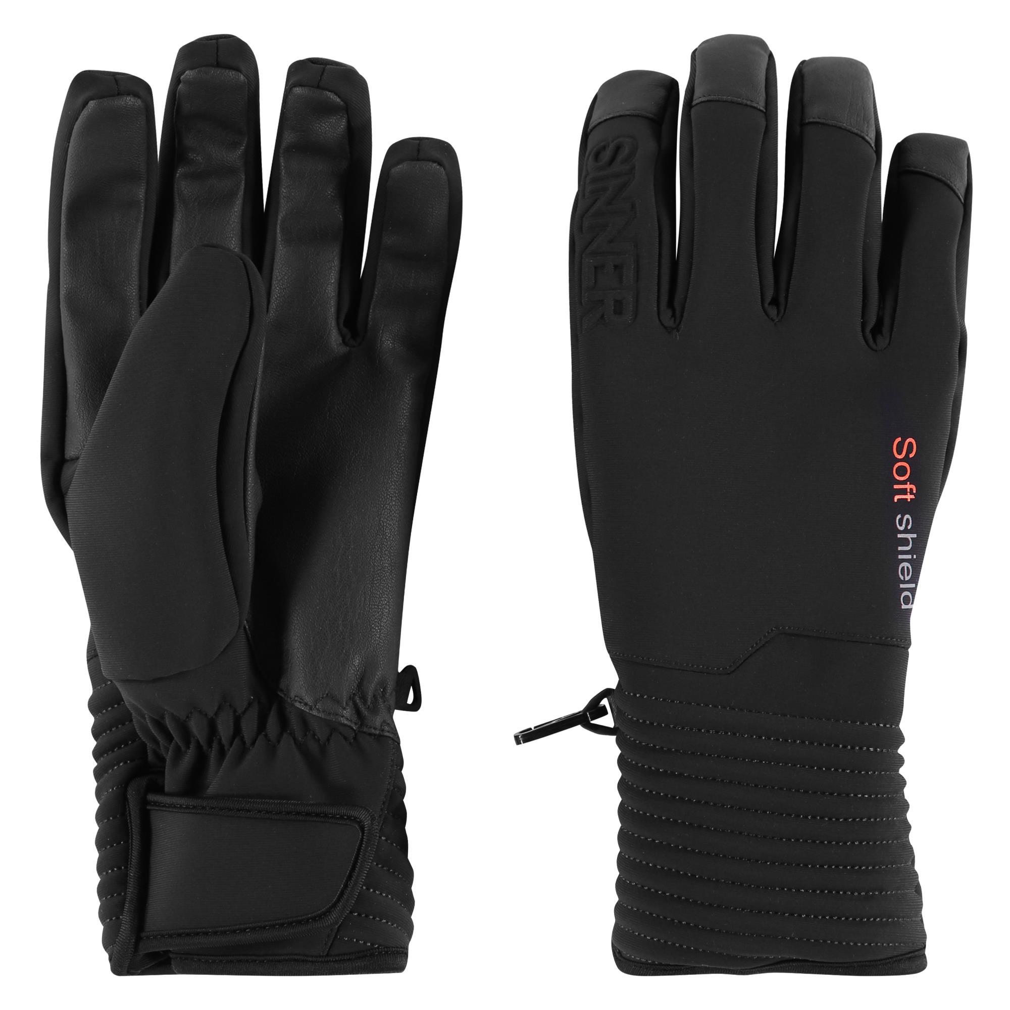 Sinner Ski Mont Handschoenen - Zwart - Maat 8