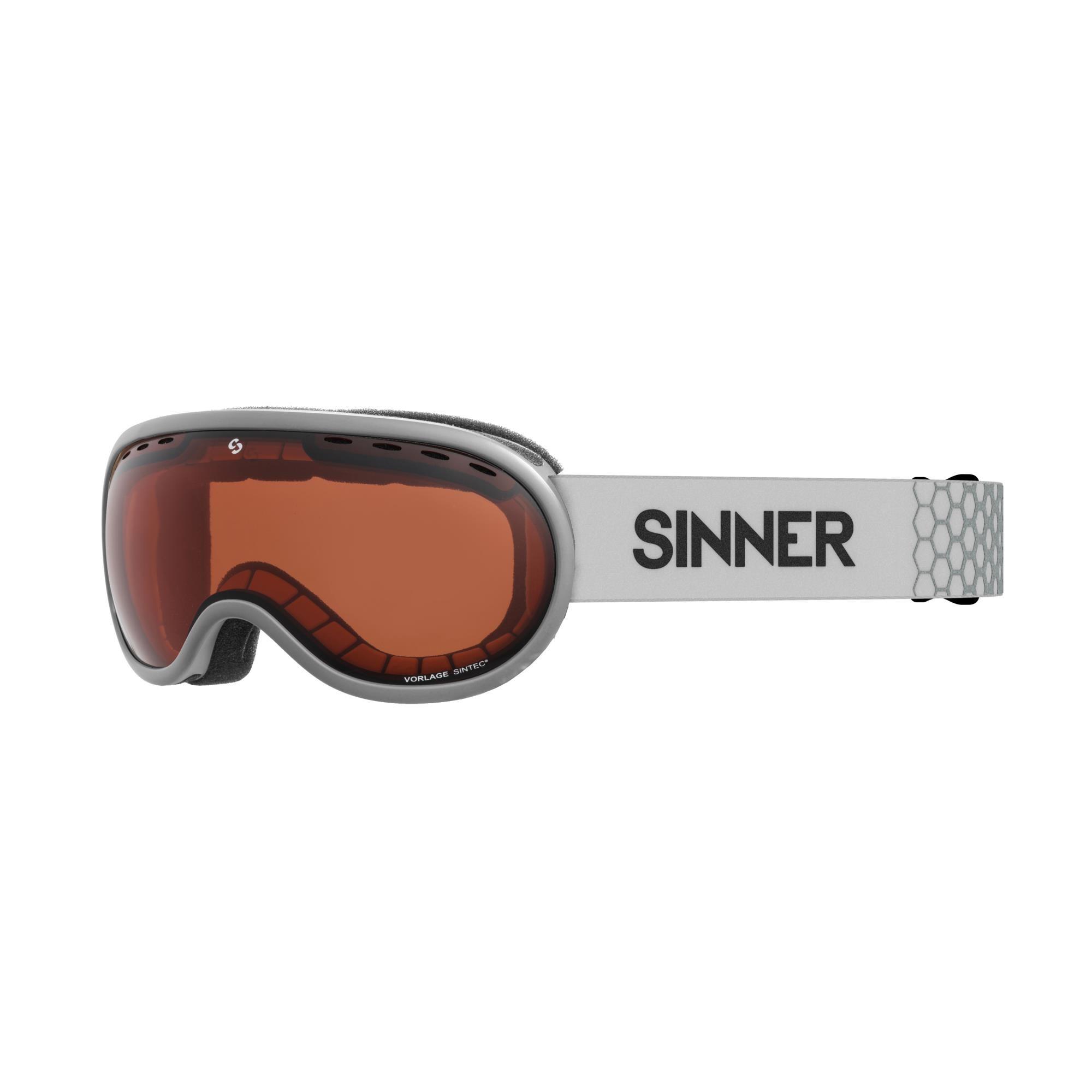 Sinner Vorlage Skibril - Mat Lichtgroen - Oranje Sintec®-Lens