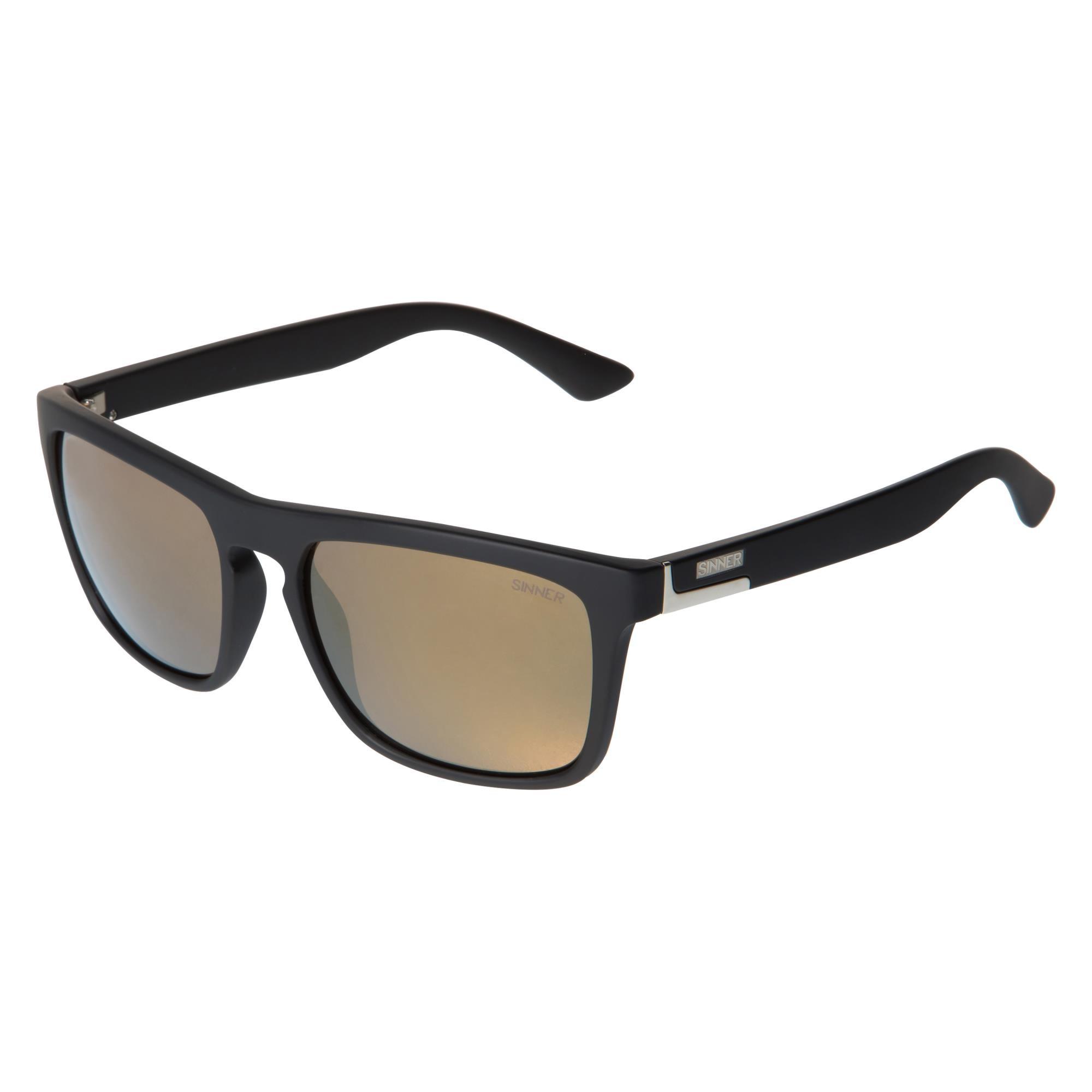 Sinner Thunder Zonnebril - Mat Zwart Frame