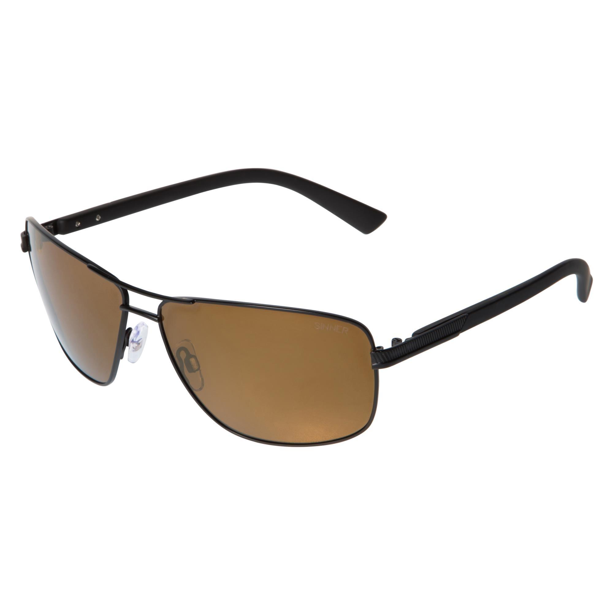 Sinner Brandon Sintec® Zonnebril - Zwart Metallic Frame