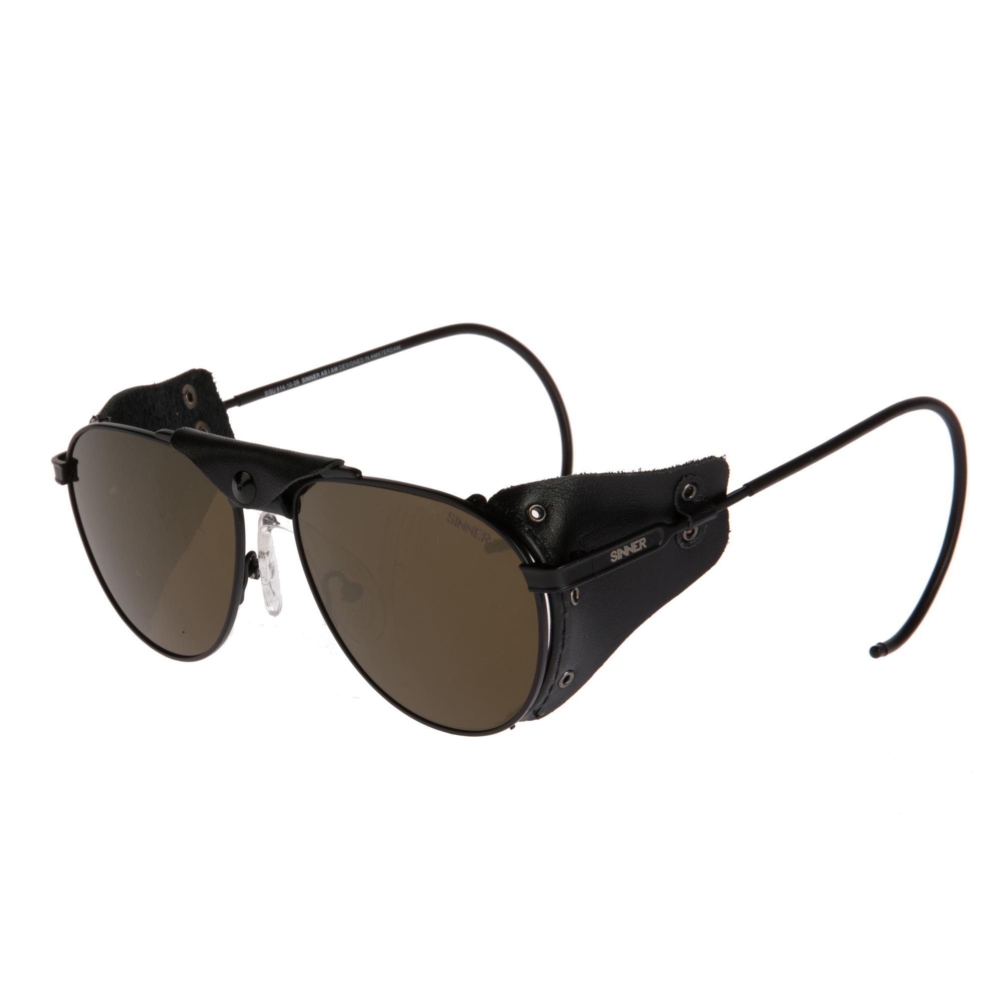 Sinner Andes Zonnebril - Mat Zwart