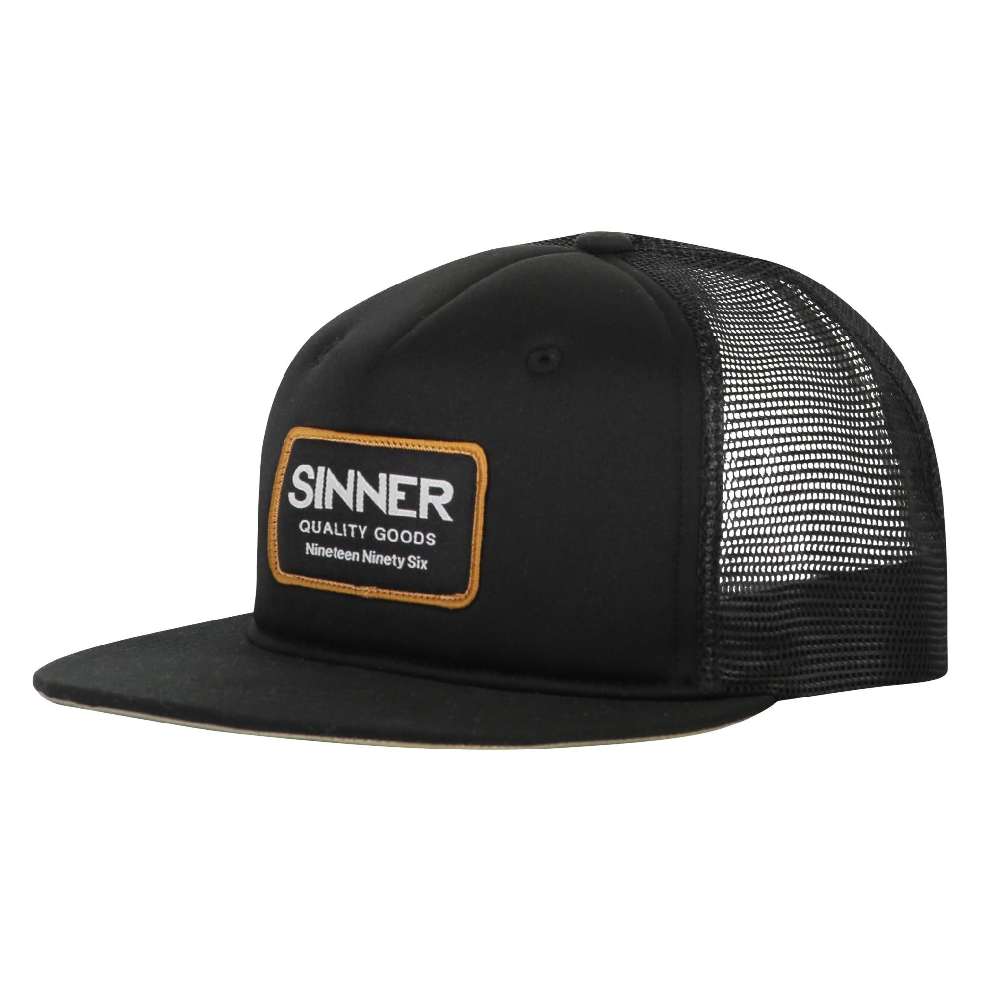 Sinner Cap Logo Badge