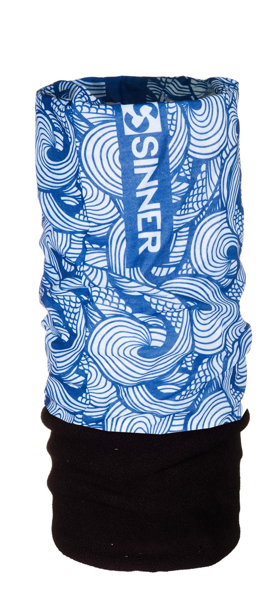 Sinner Fleece Bandana - Water - Blauw