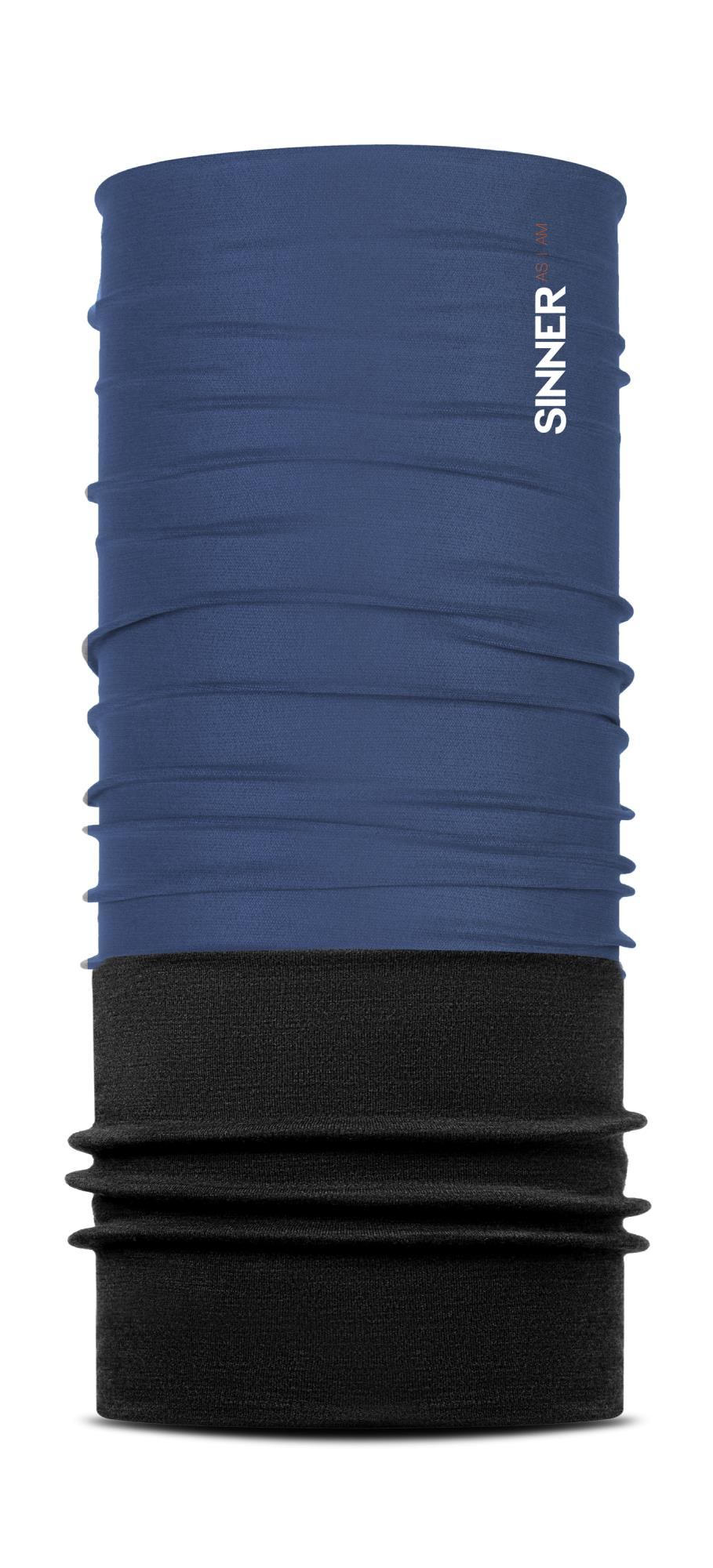 Sinner Fleece Bandana Solid - Blauw