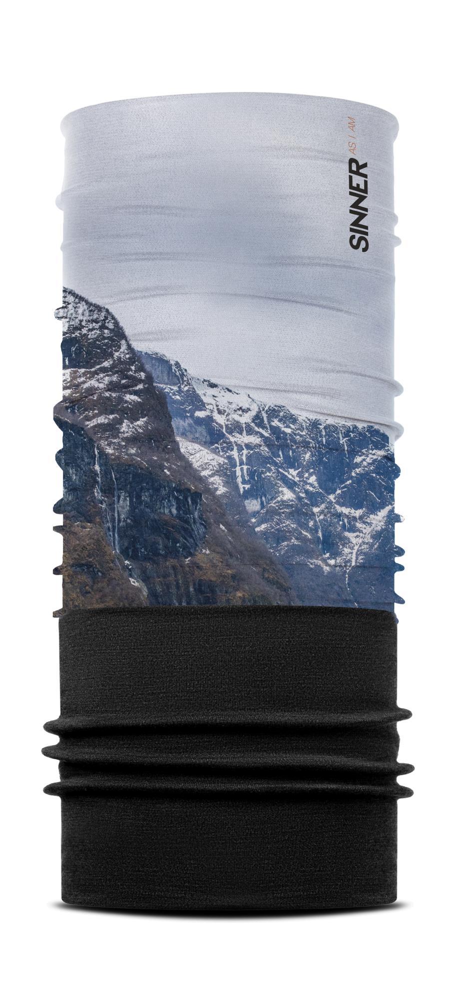Sinner Fleece Bandana Norway - Wit-blauw-zwart