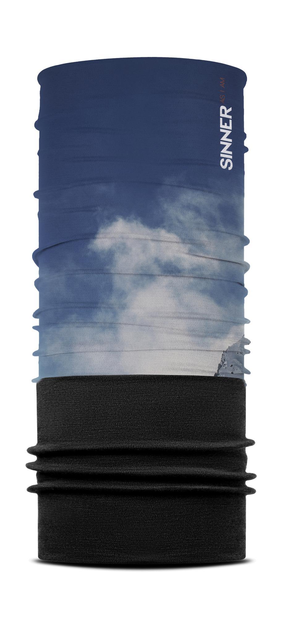 Sinner Fleece Bandana Austria - Blauw-grijs-zwart